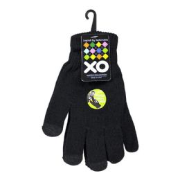 24 Units of Screen Gloves - XO Touch Screen Gloves - Conductive Texting Gloves
