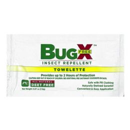 100 Units of Travel Size Insect Repellent - Bugx Deet Free Insect Repellent - Skin Care