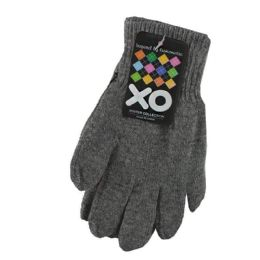 48 Units of Gloves - Assorted Colors - Knitted Stretch Gloves