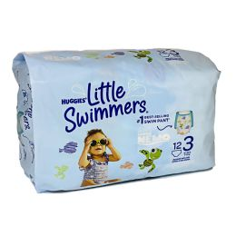 8 Units of Huggies Little Swimmers Small Pack Of 12 - Baby Beauty & Care Items