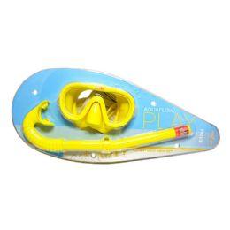 12 Units of Swim Mask Snorkel - Intex Adventurer Swim Mask Snorkel Set - Beach Toys