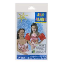 72 Units of Arm Bands - Intex Arm Bands Ages 3 to 6 - Beach Toys