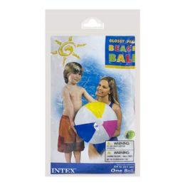 36 Units of Beach Ball - Intex Beach Ball 24 Inch - Beach Toys