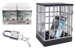 12 Units of Cell Phone Lock up - Storage