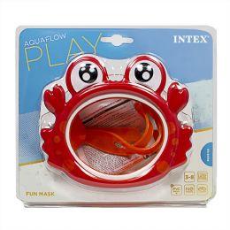 12 Units of Travel Size Intex Kids Fun Swim Mask Ages 3 to 8 - Beach Toys
