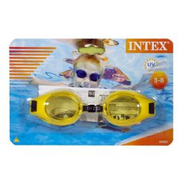 36 Units of Intex Kids Swim Goggles Ages 3 to 8 - Beach Toys