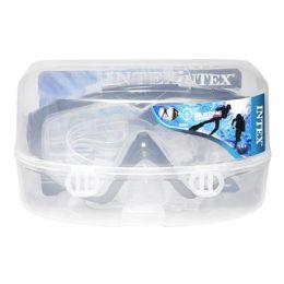 8 Units of Silicone Aqua Mask - Intex Silicone Aqua Pro Mask Ages 14 And Up - Beach Toys