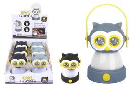 12 Units of Owl Led Lantern - Lamps and Lanterns