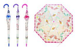 24 Units of Unicorn Children's Assorted Umbrellas - Umbrellas & Rain Gear