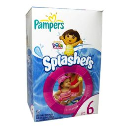 10 Units of Pampers Splashers - Pampers Splashers 6 Pack Of 17 - Baby Beauty & Care Items