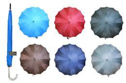 24 Units of Umbrella (solid Colors) - Umbrellas & Rain Gear