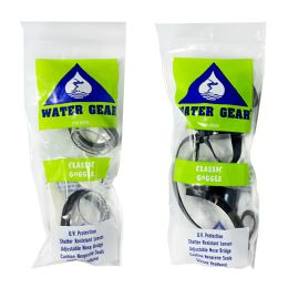 24 Units of Water Gear Goggles For Adults Only - Beach Toys
