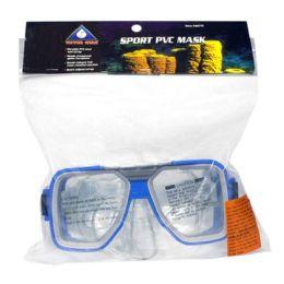 8 Units of Swim Mask - Water Gear Sport Pvc Swim Mask - Beach Toys