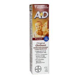 24 Units of Rash Ointment - A D Original Diaper Rash Ointment 1.5 Oz. - Baby Beauty & Care Items