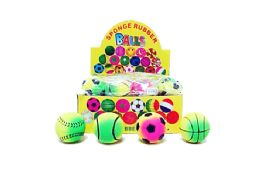 """72 Units of 2"""" Bouncy Sports Ball - Toys & Games"""
