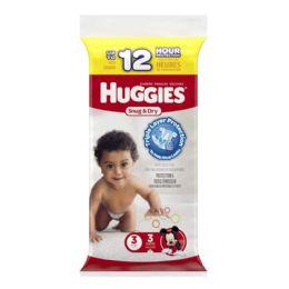 70 Units of Huggies Diapers - Huggies Snug Dry Diapers Step 3 Pack Of 3 - Baby Beauty & Care Items
