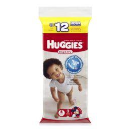 70 Units of Huggies Diapers - Huggies Snug Dry Diapers Step 5 Pack Of 3 - Baby Beauty & Care Items