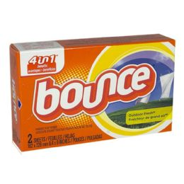 156 Units of Travel Size Bounce Fabric Softener Box Of 2 - Laundry Detergent