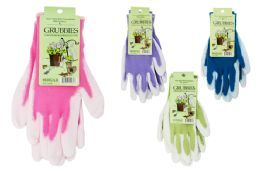 48 Units of TwO-Tone Gardening Gloves - Working Gloves