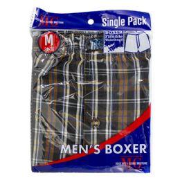 48 Units of Boxer Shorts - Boxer Shorts Medium Pack of 1 - Mens Underwear