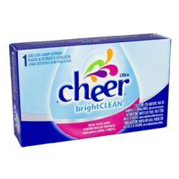 156 Units of Laundry Detergent - Cheer Laundry Detergent 1.4 Oz. - Laundry Detergent