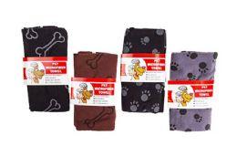 36 Units of Microfiber Pet Towel - Pet Grooming Supplies