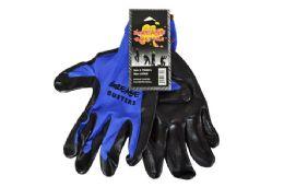 48 Units of Blue Nitrile Work GloveS-Large - Working Gloves