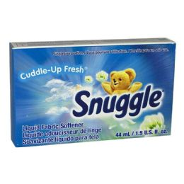 200 Units of Fabric Softener - Snuggle Liquid Fabric Softener 1.5 Oz. - Laundry Detergent