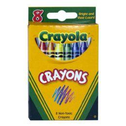 96 Units of Crayola Crayons Box Of 8 - Crayon