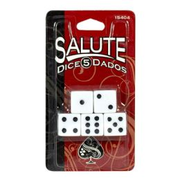 96 Units of Dice - Salute Dice - Playing Cards, Dice & Poker
