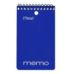 72 Units of Memo Books - Spiral Memo Books - Note Books & Writing Pads