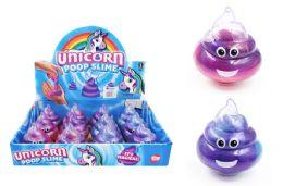 60 Units of Unicorn Poop Slime With Emoji - Slime & Squishees