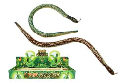 "48 Units of 19"" Wooden Snake - Animals & Reptiles"