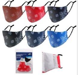 36 Units of Reusable Cloth Face Mask [bandana] - Face Mask