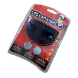 80 Units of 11LED Cap Light - Baseball Caps & Snap Backs