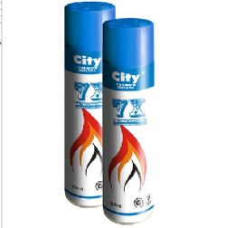 36 Units of 300ML Butane Gas -Blue Can - Lighters