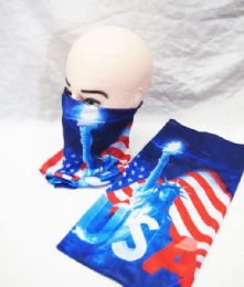 48 Units of 3d Skull Bandana Face Mask Balaclava Tube For Men Women - Face Mask