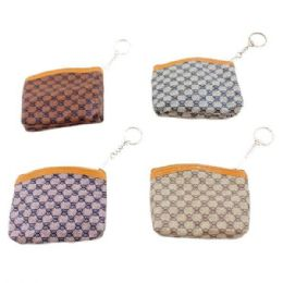 """84 Units of 4""""x3.5"""" Zippered Change Purse [g] - Coin Holders & Banks"""