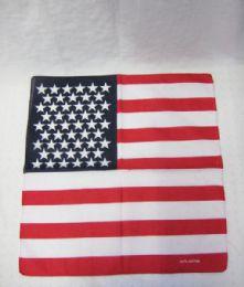 84 Units of American Flag Bandana - Bandanas
