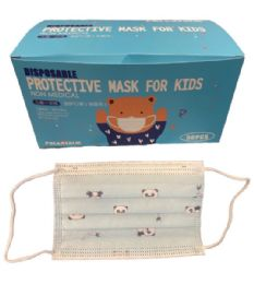 4 Units of Three Layers Disposable Face Masks - Face Mask