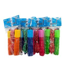 72 Units of 8' Jump Rope with Padded Handles - Jump Ropes