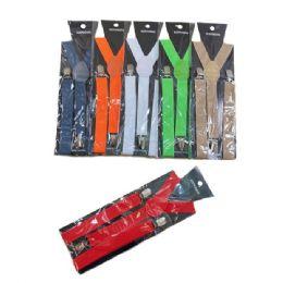 36 Units of Adjustable Suspenders - Suspenders