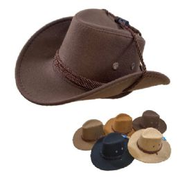 24 Units of Child's Cowboy Hat [Rope Hat Band] - Cowboy & Boonie Hat