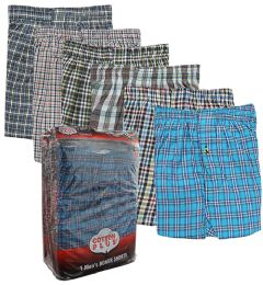 48 Units of Boxer Shorts Single Pack Size Large Pack Of 1 - Mens Underwear
