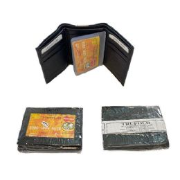 24 Units of Men's Leather Wallet [Tri-Fold] - Leather Wallets