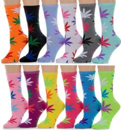 60 Units of 60 Pairs Womens Casual Crew Sock, Cotton Colorful Fun Patterns, Wholesale Bulk (60 Pairs Mary Jane Print) Size 9-11 - Womens Crew Sock