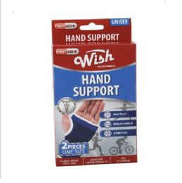 72 Units of OnE-Size Flexible Hand Support [red Box] 2pcs - Bandages and Support Wraps