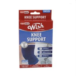 72 Units of OnE-Size Flexible Knee Support [red Box] - Bandages and Support Wraps