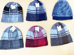 72 Units of Winter Fashion Beanie Hat Assorted Colors - Winter Beanie Hats
