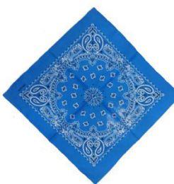 120 Units of Blue Western Neck Bandana - Bandanas